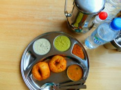 Indisches Frühstück in Bur Dubai
