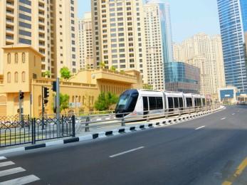 Klimatisierte Straßenbahn