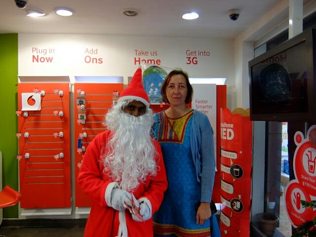 Ich hab den Weihnachtsmann getroffen