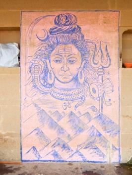 Varanasi wird auch Shivacity genannt. wohin man auch geht ist er präsent.