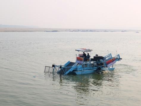 Ganga wird gereinigt