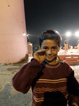 Juzu, mein kleiner Freund in Varanasi