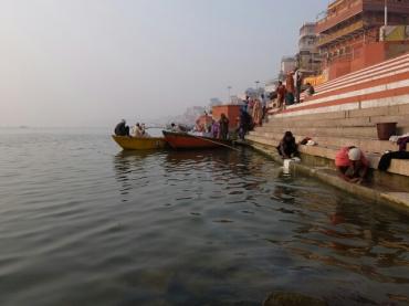 Boot am Lalita Ghat