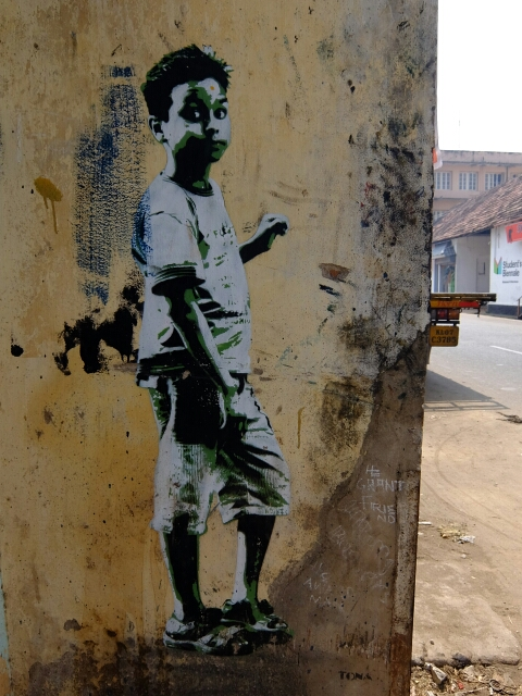 Streetboy in Kochin